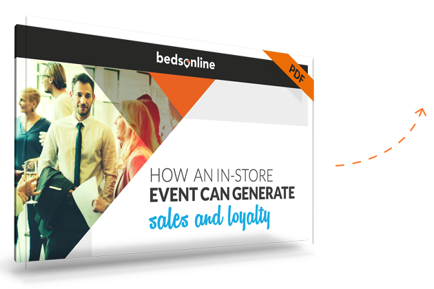 Bedsonline generate sales and loyalty with in-store events