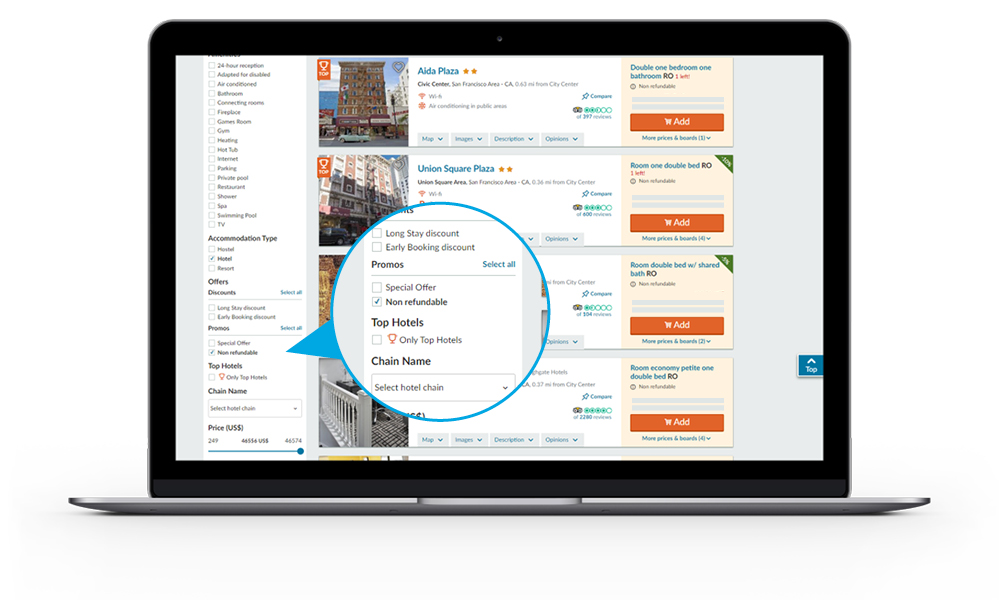 Booking Engine for travel Agents